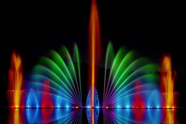 bespoke dancing fountain
